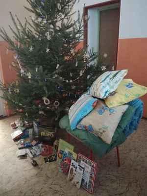 Vánoční nadílka v I. oddělení ŠD