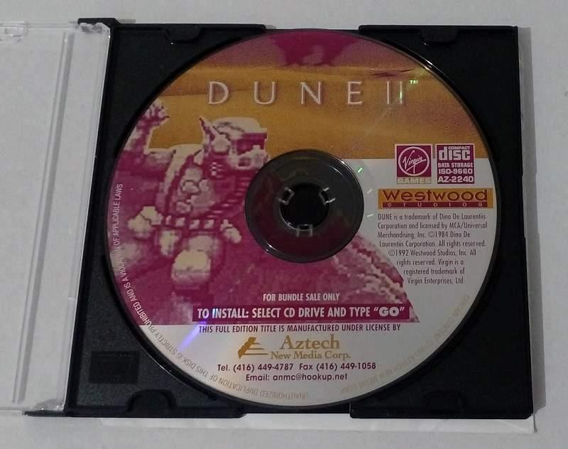 DUNE 2 edition Aztech 1992
