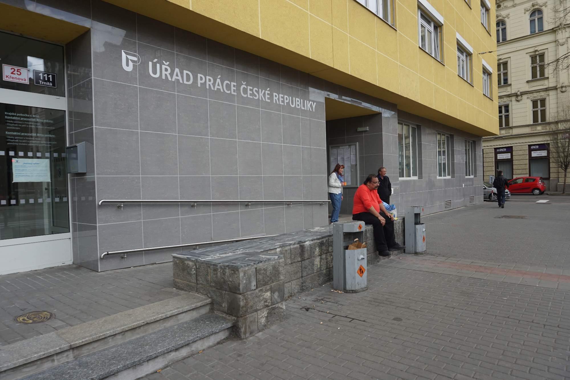 Budova úřadu práce, foto: Natálie Kuzmová