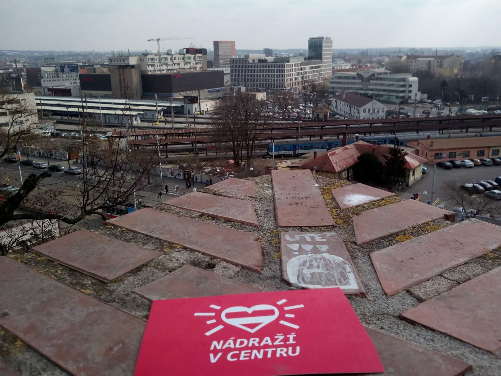 Nádraží v centru, FOTO: Sabina Vojtěchová