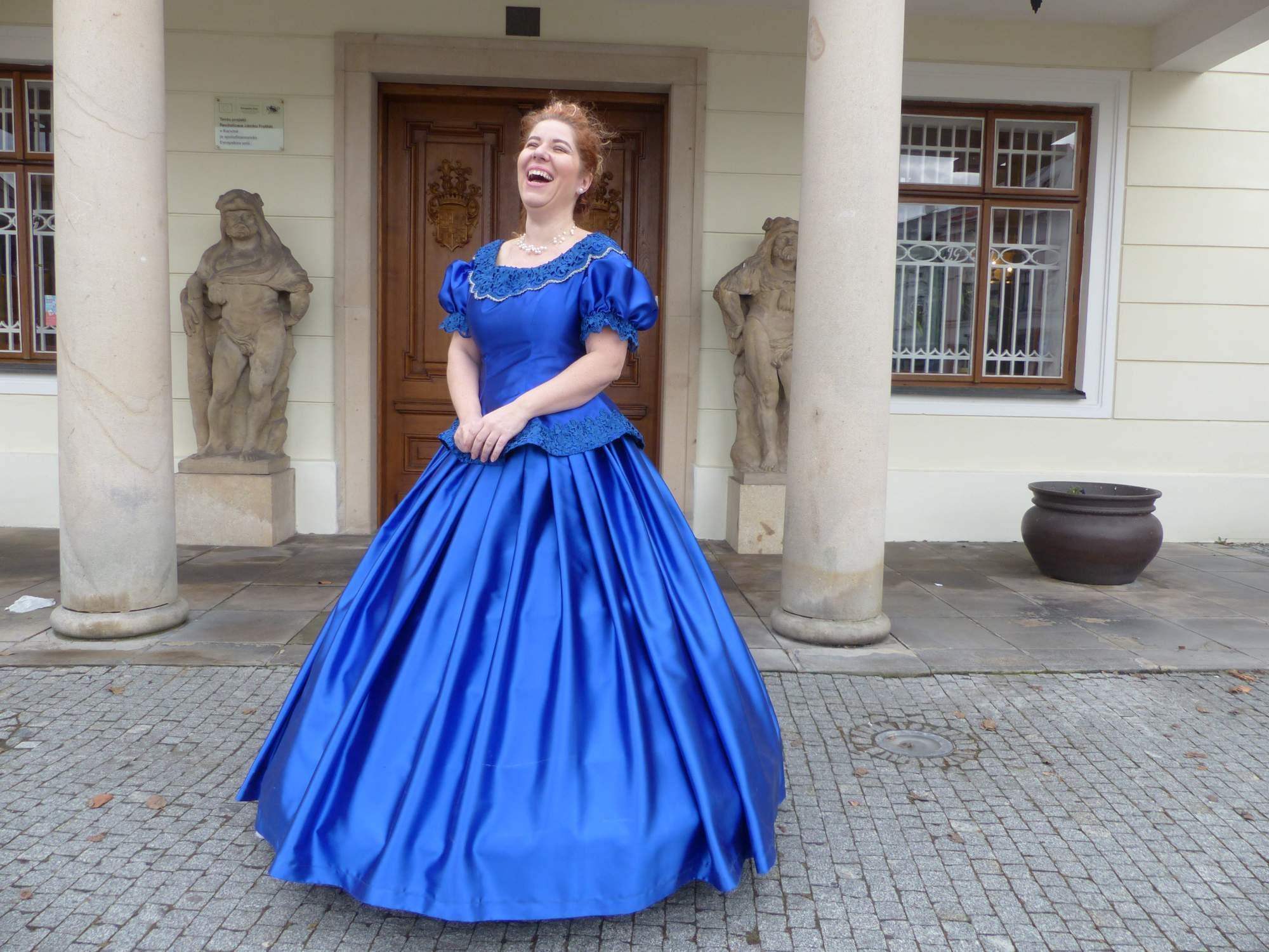Průvodkyně na zámku, foto: Natálie Kuzmová
