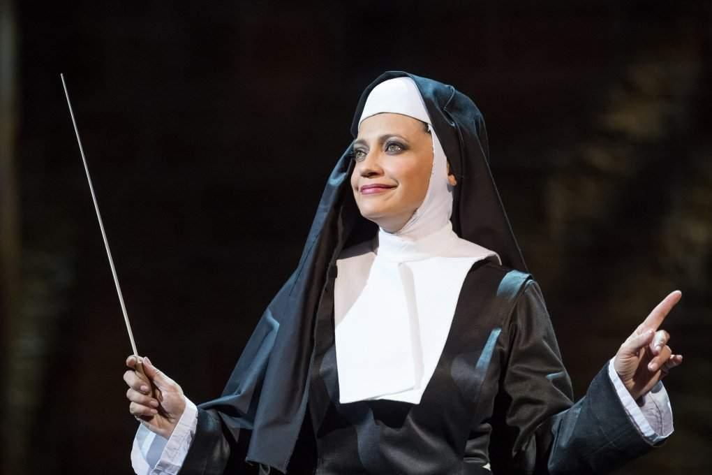 V hlavní roli Lucie Bílá jako Deloris, autor: Hudební divadlo Karlín