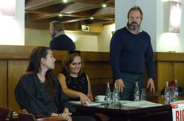 Režisér a herec Petr Gazdík představuje muzikál Big. Foto: Jan Mazáč.