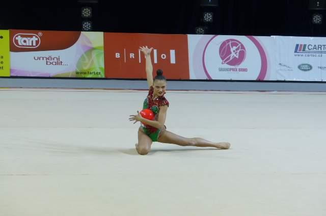 Yanika Vartlaanová získala v Grand Prix dvě bronzové medaile. Foto: Jan Mazáč.