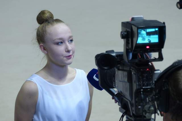 Alina Chamzinová byla celkem ve třech finále. Foto: Jan Mazáč.