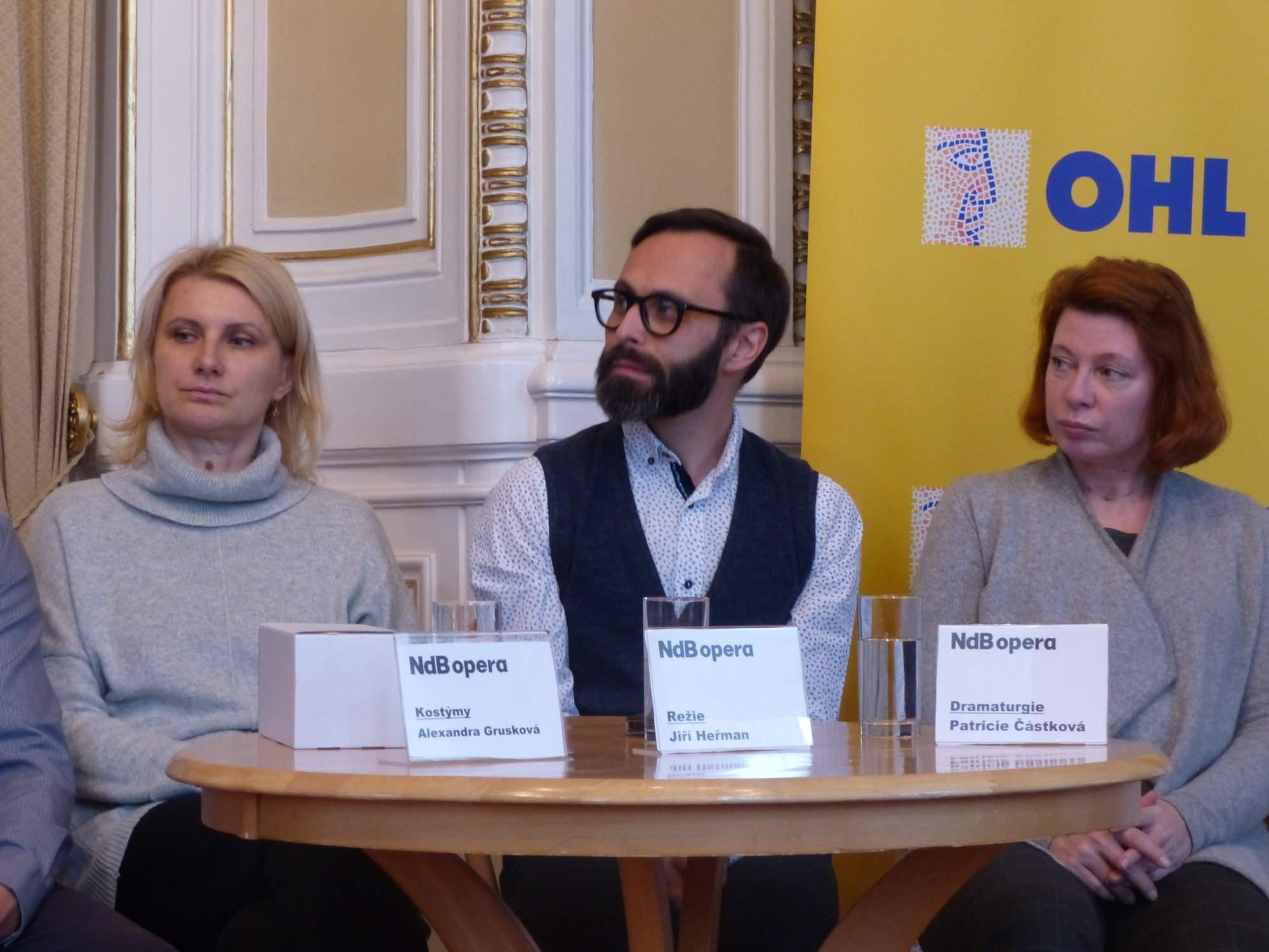 Režisér Jiří Heřman se ujal nového nastudování lišky Bystroušky. Foto: Jan Mazáč