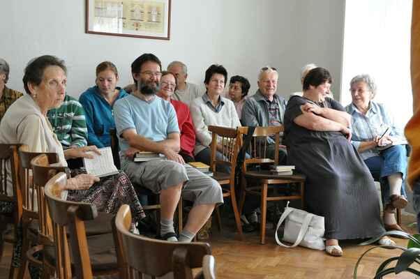 na bohoslužbách v Havlíčkově Brodě - Benjamín Skála R. Q. © 2011 Své fotky na internet nahrávám multilicencované pod GFDL, CC-BY-SA all versions.
