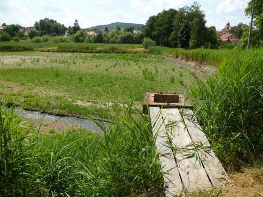 Procházka kolem Pecováku  (2) - Pecovák stále vypuštěn.