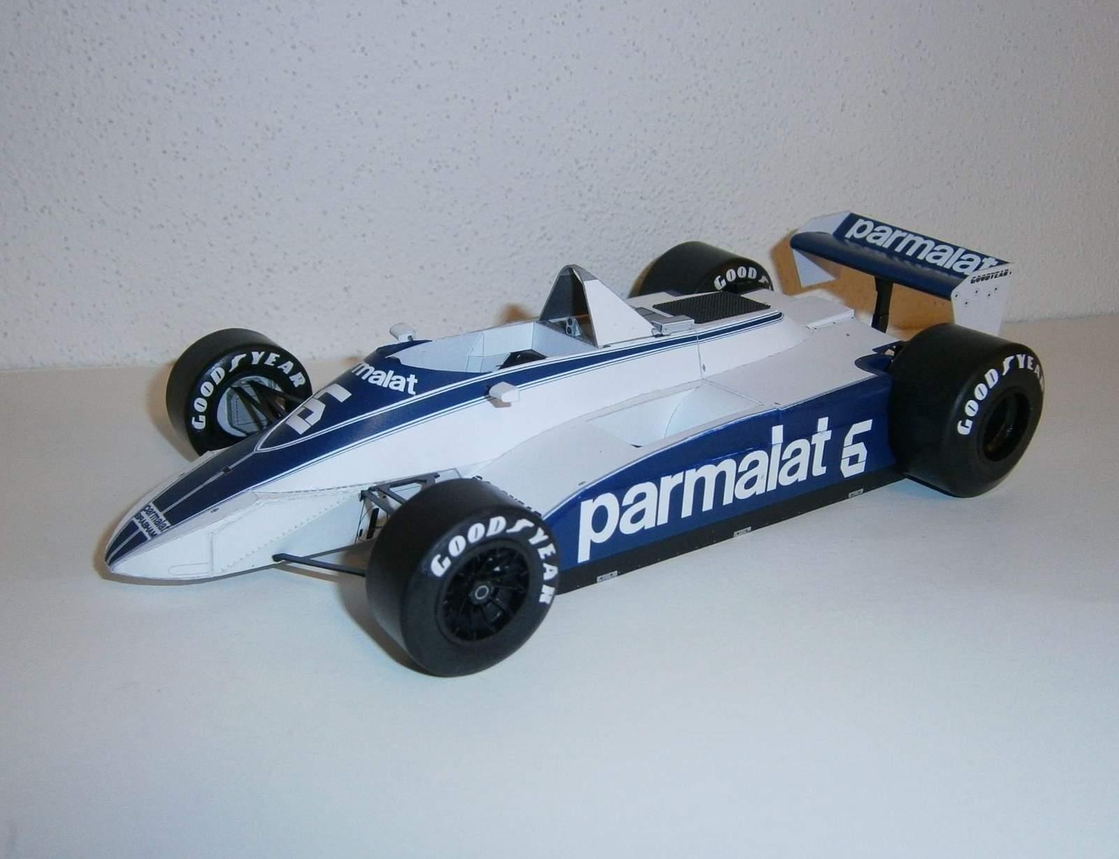 Brabham BT49 Ford - R.Zunino, GP Argentine 1980