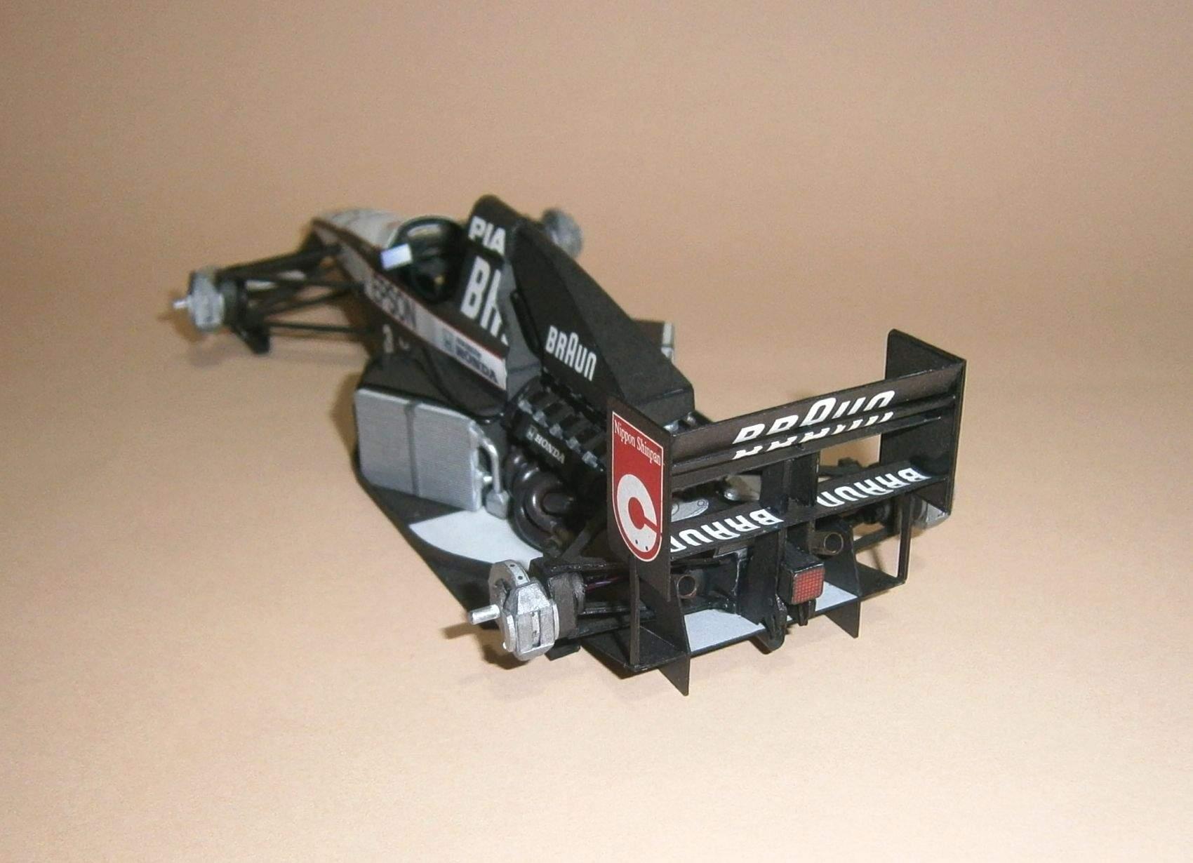 Tyrrell 020 - S.Nakajima, GP Kanady 1991