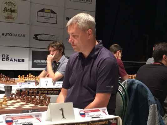GM Evgeny Vorobiov. 2. Place.