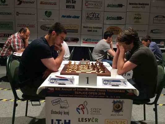3. round. IM Grinberg - GM Rodshtein.