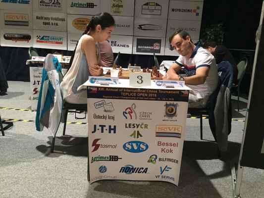4. round. IM Saduakassova - GM Krysa.