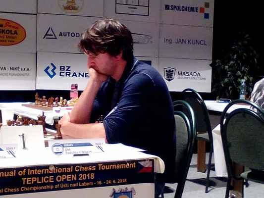 1. round. GM Maxim Rodshtein.