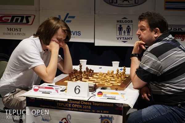 1. round. L. Domanski - GM Fridman