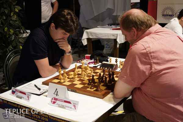 1. round. GM Romanov A. Olsen.