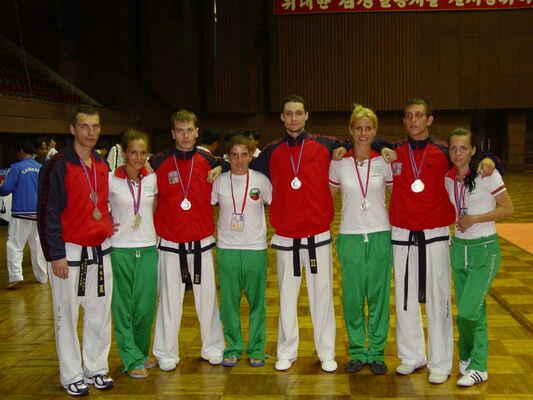 český a bulharský tým