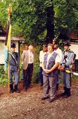 Stezka 1998 - 6. prapor polních myslivců - Náchod internetová adresa: http://nachod.1866.cz/<br>