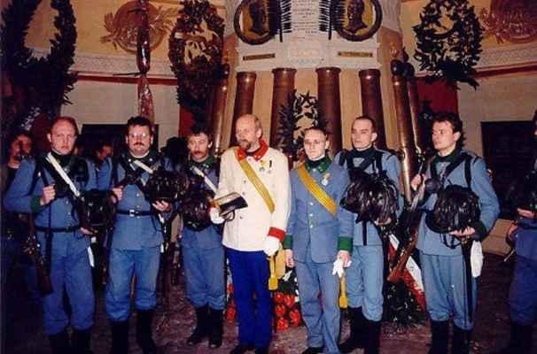 Novara 1999 - 6. prapor polních myslivců - Náchod internetová adresa: http://nachod.1866.cz/