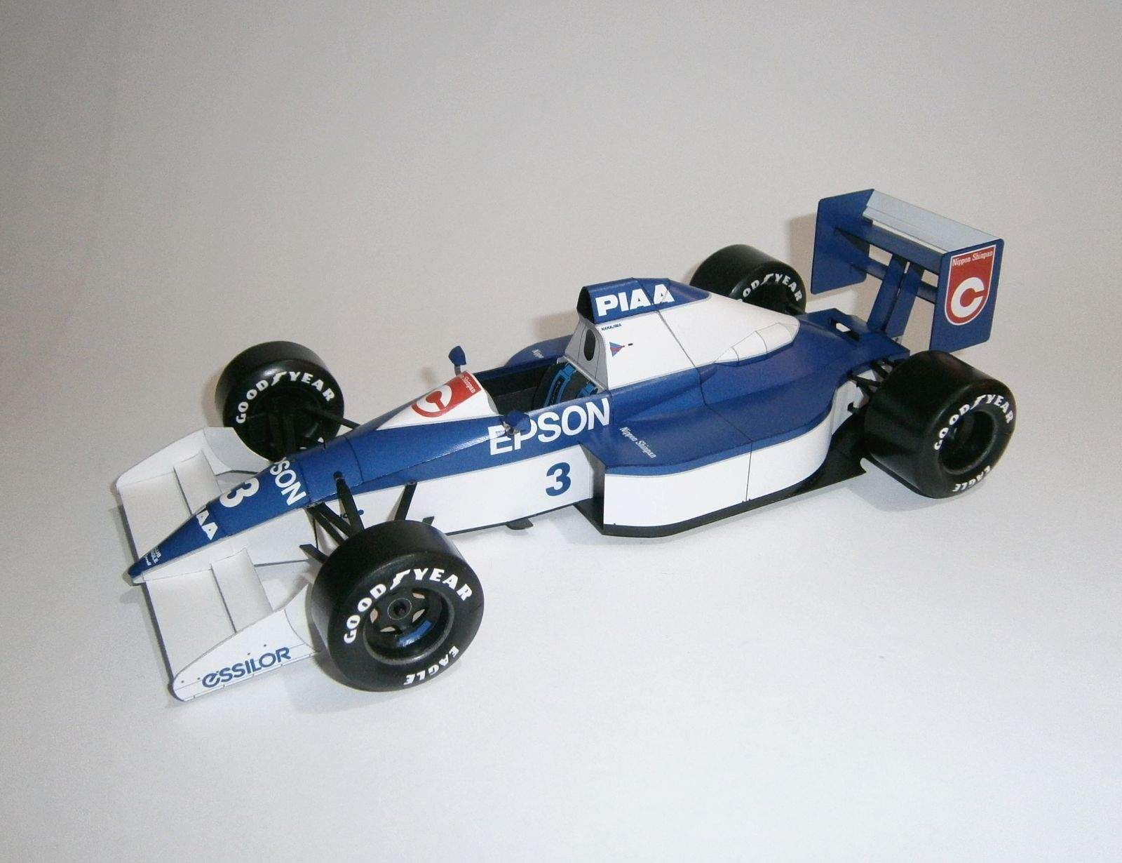 Tyrrell 018 - S.Nakajima, GP USA 1990
