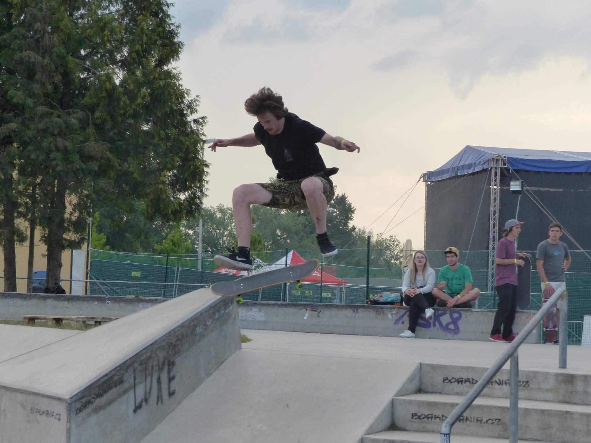 Skateboardista. Foto: Veronika Sodomová