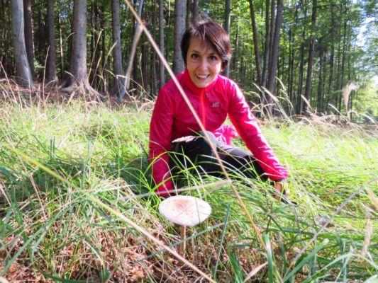 velká houba s malou Sašou :-)