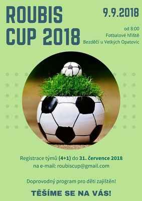 Fotbalový turnaj ROUBIS CUP 2018 - Bezděčí 9.9.2018 - 1. díl 0  f3028de862