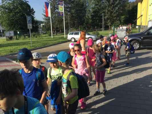 Školní výlet v Rožnově pod Radhoštěm